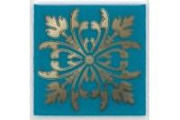 Клемансо бирюзовый Вставка HGD\D252\5246
