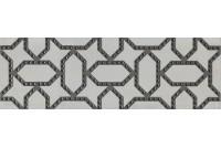 Раваль Декор серый светлый обрезной DC/A08/13059R