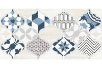 Мореска Декор синий 2 1641-8630