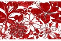 Жаклин декор красный