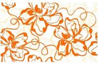 Монро декор оранжевый