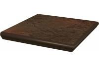 Semir Brown Ступень угловая с носиком структурированная