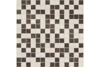 Crystal Мозаика коричневый+бежевый