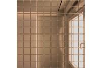 Зеркальная мозаика Бронза Б25 с чипом 25 х 25