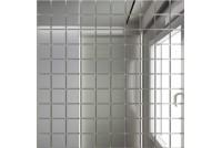 Зеркальная мозаика Серебро С25 с чипом 25 х 25
