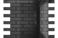 Зеркальная мозаика Графит Г8025 с чипом 80 х 25