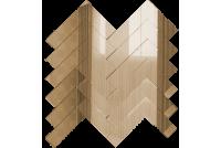 ЕБ1 Зеркальная мозаика елочка бронза 260х292