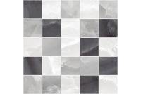 Prime Декор мозаичный серый микс MM34040