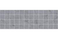 Rock Декор мозаичный серый MM11187