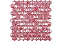 Hex Diamond 375D Red мозаика
