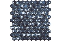 Hex Diamond 374D Blue мозаика