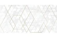 Calacatta ромбы белый Декор KT2L052DT