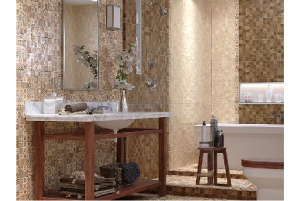 Country Wood Golden Tile