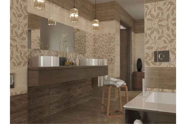 Travertine Mosaic Golden Tile