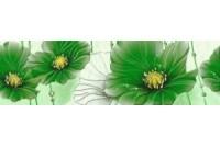 Маргарита (Герберы) бордюр зеленый 6x20