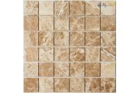KP-756 камень полированный (23*23*6) 298*298 Ns-mosaic