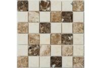 KP-758 камень полированный (23*23*6) 298*298 Ns-mosaic