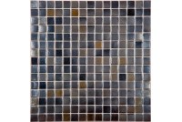 20LK02 черный (сетка 20х20х4) 327*327 Ns-mosaic