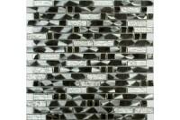 MS-606 метал  стекло  (15х48х98x6) 305*298 Ns-mosaic