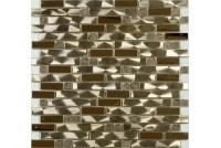 MS-609 метал  керамика  (15х48х98x6) 305*298 Ns-mosaic