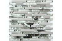 MS-623 метал стекло (15*98*8) 288*298 Ns-mosaic
